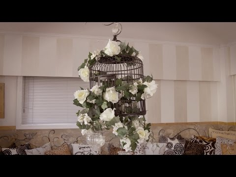 How to make a Floral Decorative Birdcage