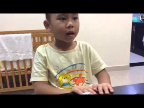Emile's message to friends at Living wisdom school