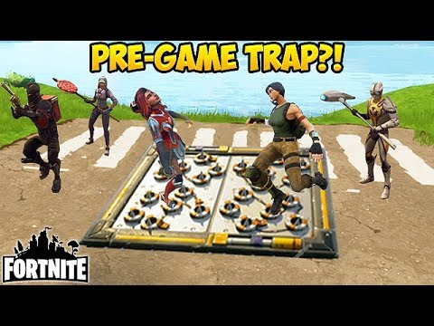 WORLDS FIRST PRE-LOBBY TRAP! - Fortnite Funny Fails and WTF Moments! #201 (Daily Moments)