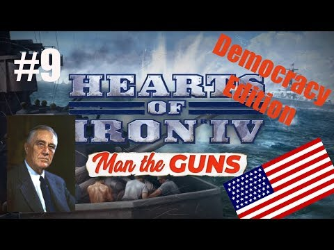 Repeat HOI4: Man the Guns - United States of America #7 - VJ
