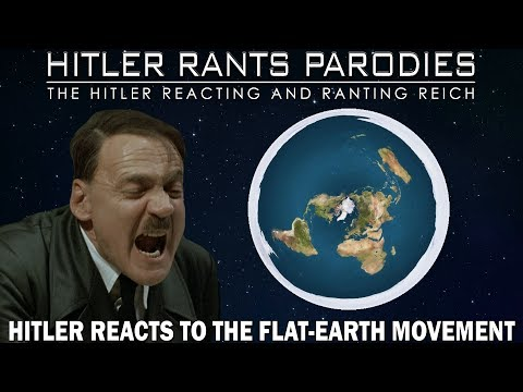 Hitler reacts to the Flat-Earth Movement thumbnail