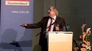 Reform der Krankenversicherung - Vortrag Dr. Jürgen Wasem