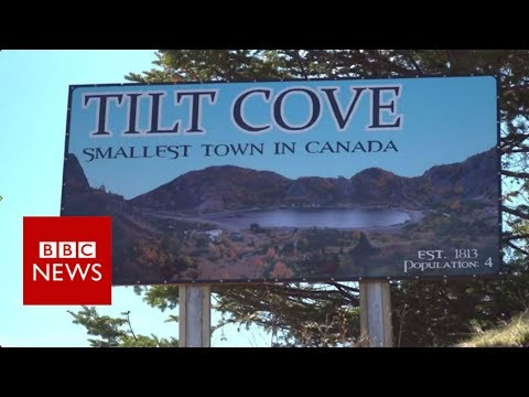 The smallest town in Canada, population: 4- BBC News