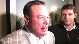 Tennessee head coach Butch Jones talks Huskers before Music City Bowl 2016