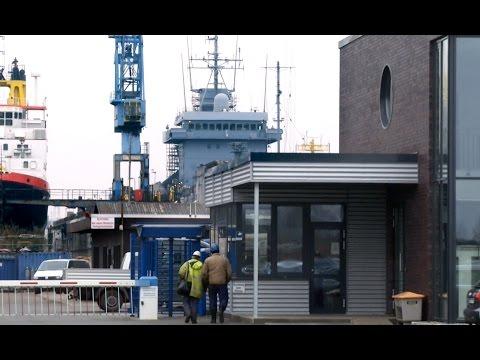 Tender Rhein in der Werft