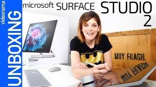 📦 Microsoft Surface Studio 2 unboxing -¿el ordenador FLOTANTE?-