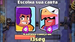 USEI 2 NOVAS CARTAS DO CLASH ROYALE EM PORTUGAL - BO e SHELLY