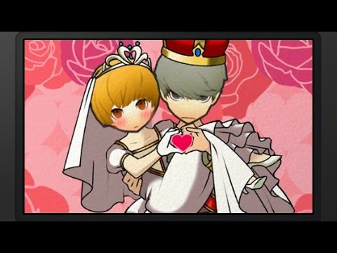 Persona Q: SotL - P4 MC & Chie Wedding (P4) [Group Date Cafe]