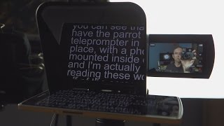 Parrot Teleprompter Unboxing and First Impressions!