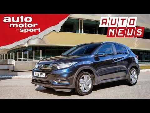 Honda HR-V (2018): Facelift für Japan-SUV - NEWS | auto motor und sport