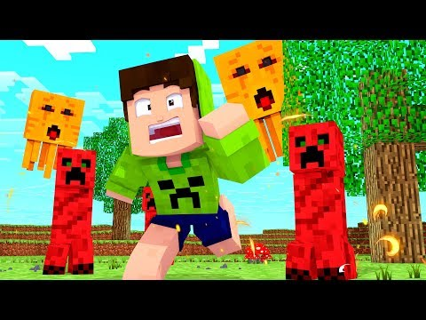 OS PIORES MOBS DO MINECRAFT! - MINECRAFT INFINITO #79 thumbnail