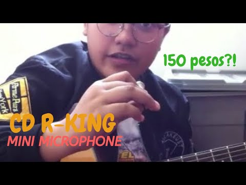 CD-R KING MINI MICROPHONE REVIEW || #SyTried (Philippines)