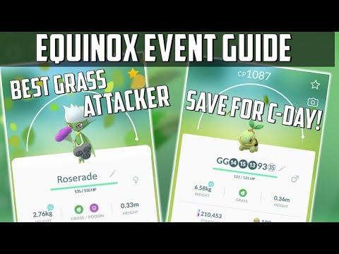 Equinox Event Guide In Pokemon GO!