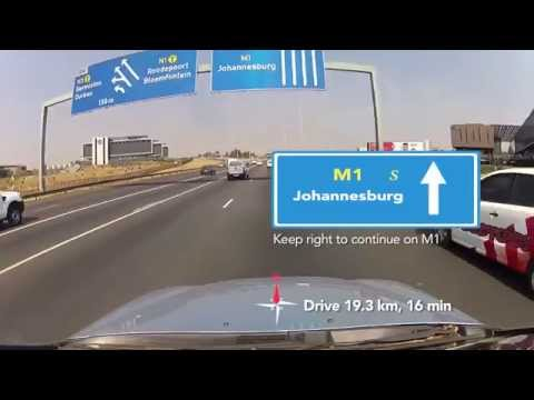 Directions to Ellis Park from the North (Johannesburg)