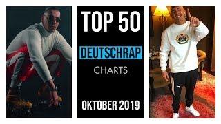 TOP 50 DEUTSCHRAP CHARTS ♫ OKTOBER 2019