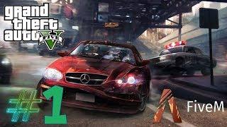 GTA V FiveM Czyli prawdziwe zycie #1