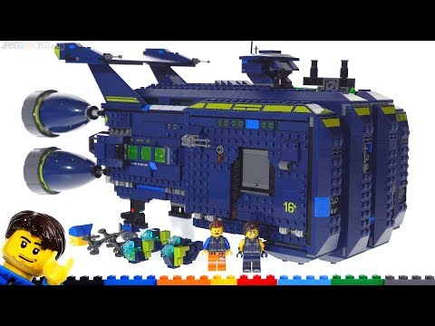 LEGO Movie 2 The REXCELSIOR review 👊 70839