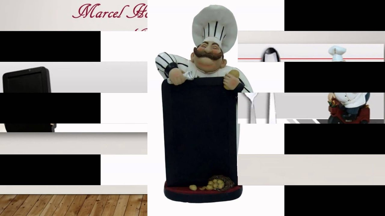 Bistro Fat Chef kitchen Decor figurine