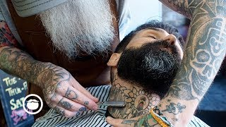 The Best Beard Trim from a Master Barber