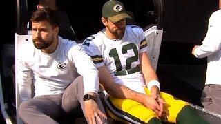 Aaron Rodgers Injury Update - Broken Collarbone / Packers vs Vikings / NFL Week 6