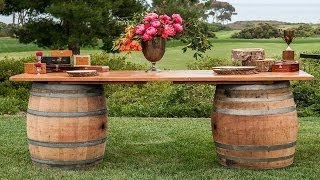 Садовая мебель своими руками(Видео-блог о дизайне, архитектуре и стиле. Идеи для тех кто обустраивает свой дом, квартиру, дачу, садовый..., 2014-05-31T05:42:37.000Z)
