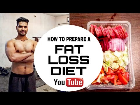 How to Lose Weight (fat loss diet) in hindi