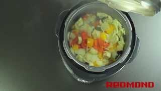 Овощное рагу в мультиварке Redmond RMC-M4504