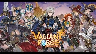 Valiant Force Gameplay iOS / Android