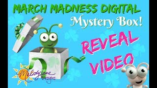 March Digital Mystery Box Reveal video 2018