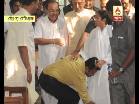 Shubhranshu Roy, son of Mukul Roy, touched Mamata's feet in the assembly