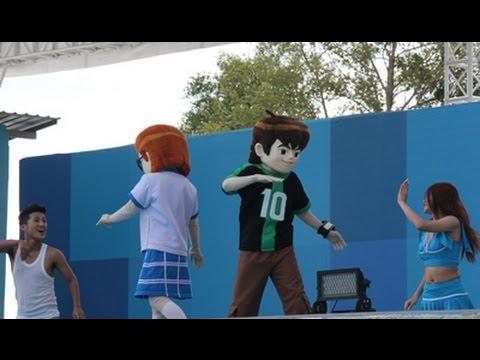 โชว์เต้นเบ็นเท็น สวนน้ำการ์ตูนเน็ตเวิร์ค อเมโซน พัทยา :Cartoon Network Amazone Pattaya