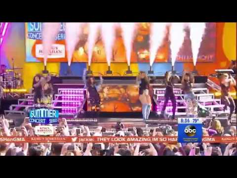 Fifth Harmony Feat Ty Dolla $ign - Work From Home (Live @ Good Morning America 02/06/2017)