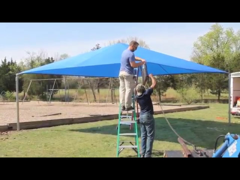 How To Install A SportsPlay Equipment Shade Structure