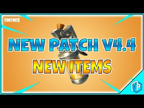 NEW Stinky UPDATE - PATCH NOTES V4.4 FORTNITE Battle Royale! Stink Bomb & MORE!