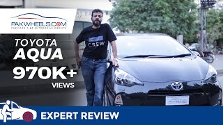 Toyota Aqua Detailed Review: Price, Specs & Features | PakWheels