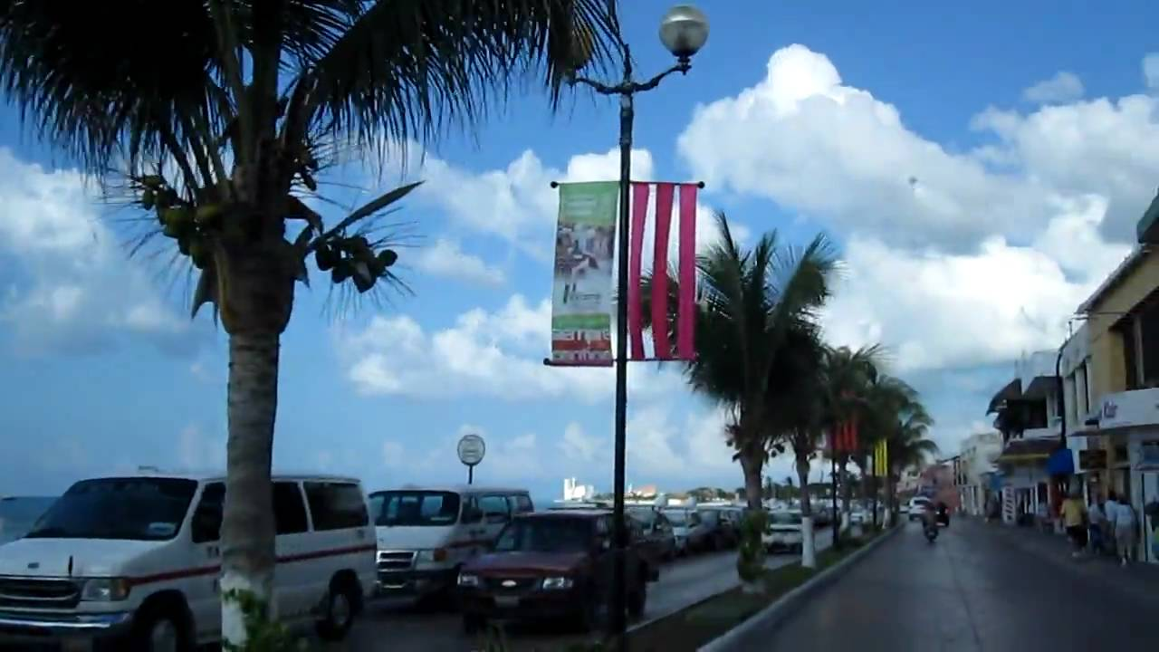 3k In Miles >> Cozumel Mexico Downtown Shopping Area - YouTube