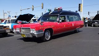 1970 Cadillac Ambulance Miller Meteor Volunteer & Siren Sound on My Car Story with Lou Costabile