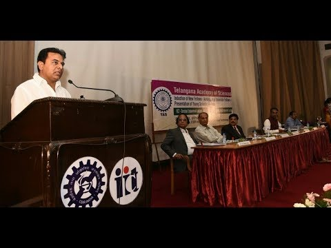 Minister KT Rama Rao speech at Telangana Academy of Sciences 'Young Scientist Awards-2017'