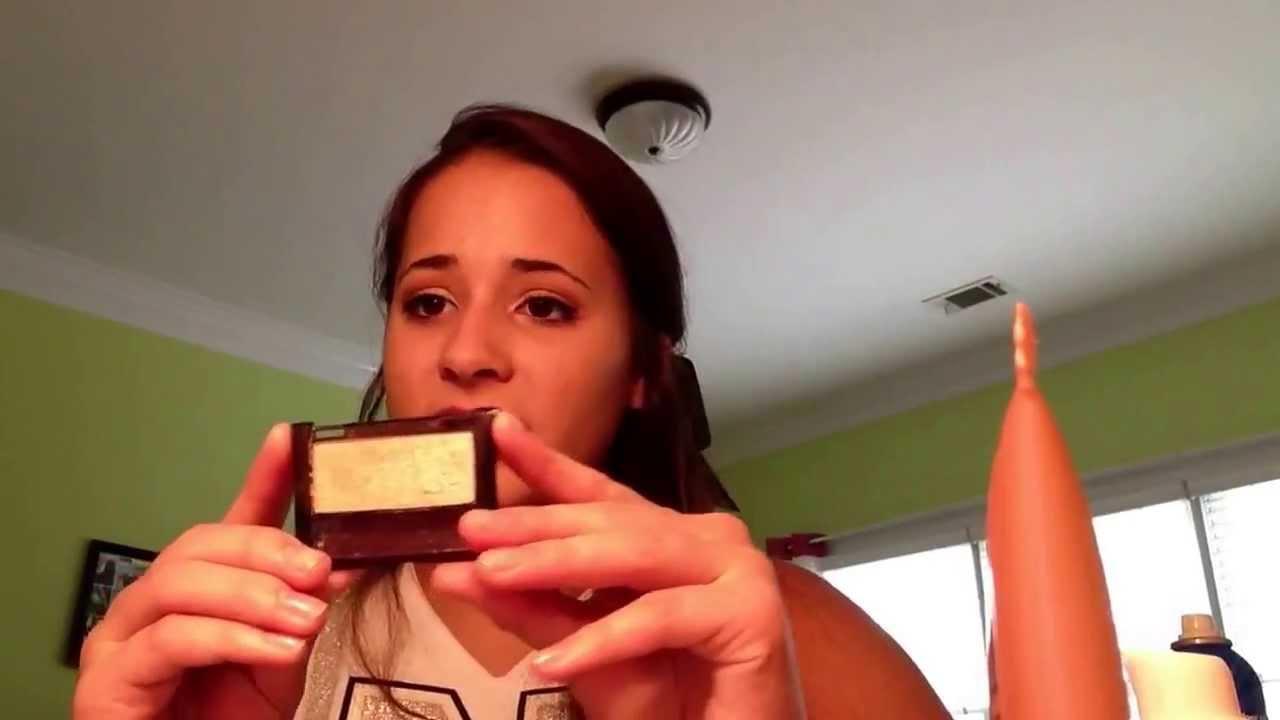Sideline cheer makeup tutorial youtube sideline cheer makeup tutorial baditri Image collections