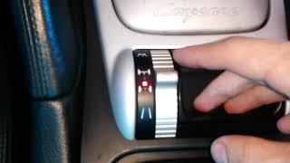 porsche Cayenne (Порше Кайен): Как включить полный привод и блокировку дифференциала