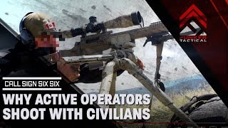 Why Active Operators Are Shooting With Civilians | Sniper's Hide Cup 2016