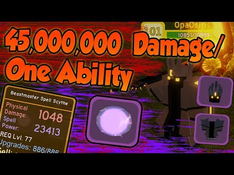 45,000,000+ Damage/ability! NEW MAGE BUFF! - ✨Roblox Dungeon Quest