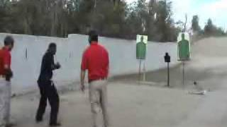 Florida Armed Security Officers Learning Firearms Tactics