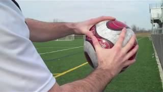 Техніка тримання мяча