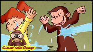 Curioso come George 🐵L'opera d'arte 🐵Cartoni Animati per Bambini 🐵George la scimmia