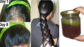 индийский секрет🌿 отрастить волосы с невероятной скоростью и лечить облысение с первой недели