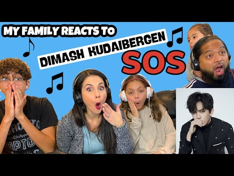 My Family REACTS to DIMASH KUDAIBERGEN SOS d'un terrien en detresse!! Our FIRST REACTION!