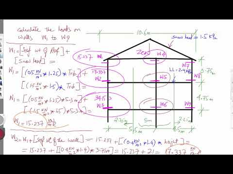 Week 10 Wood Structure Load Calculation Example