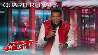 Comedian Michael Yo Tells Hilarious Stories About Starting a Family! - America's Got Talent 2020