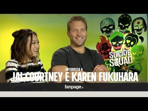 Suicide Squad, Karen Fukuhara e Jai Courtney: